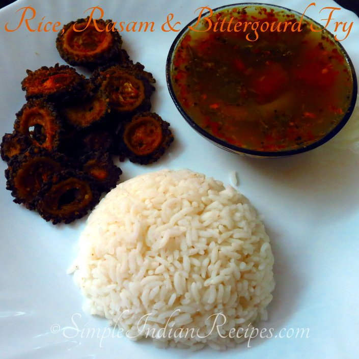 Rasam with Rice