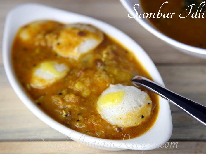 how to prepare andhra idli sambar