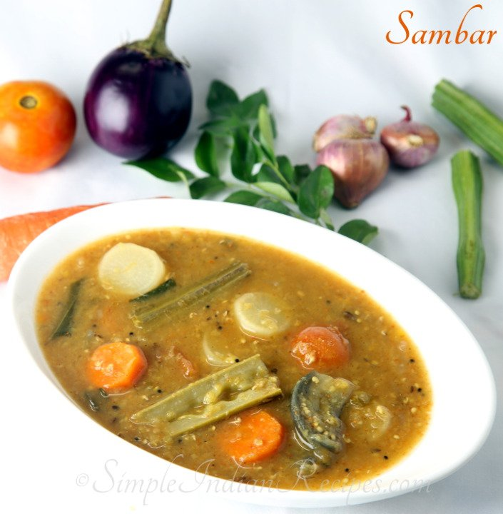 Sambar | Simple Indian Recipes