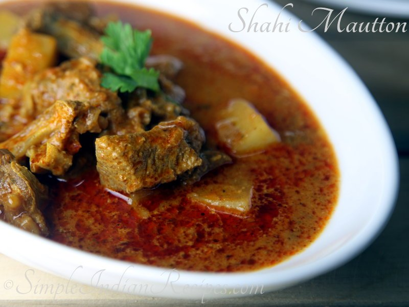 Shahi Mutton Curry