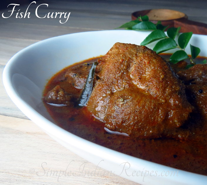 South Indian Fish Curry With Roasted Coconut