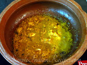 Fish Curry with Roasted Coconut Preparation Steps