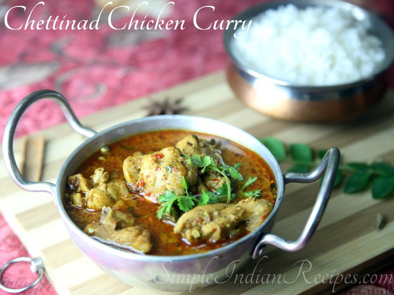South Indian Spicy Chicken Curry