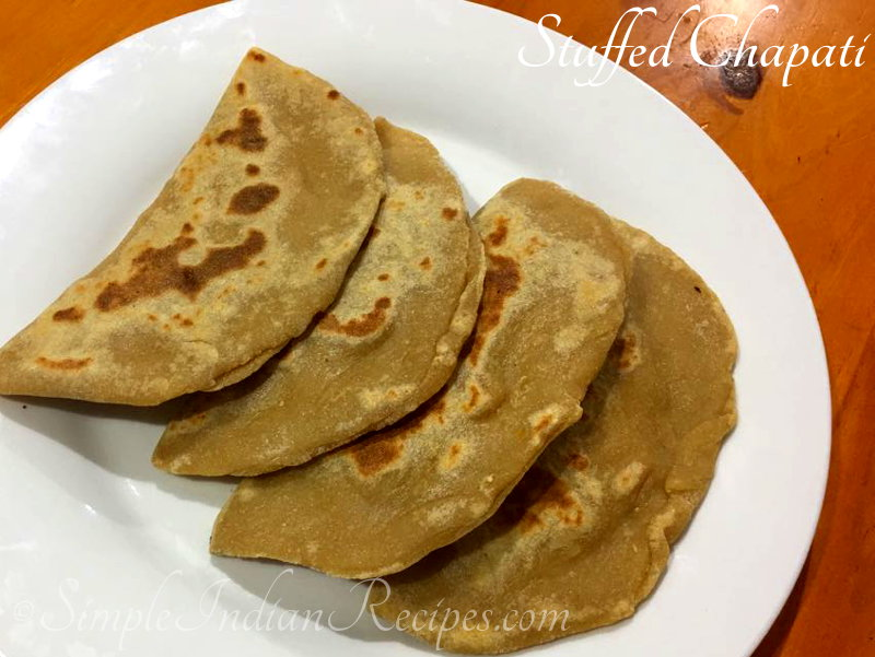 Stuffed Chapati