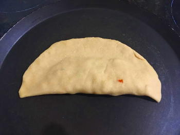 Stuffed Chapati Preparation Step