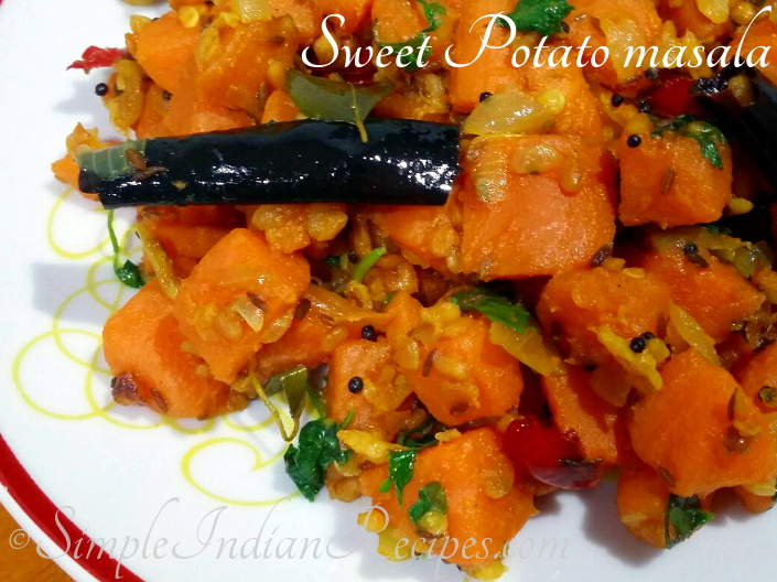 Sweet Potato Masala