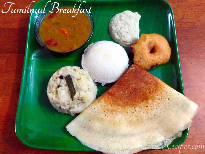 Tamilnad Breakfast