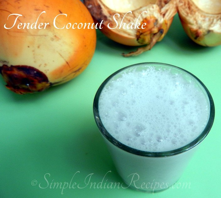 Tender Coconut Shake