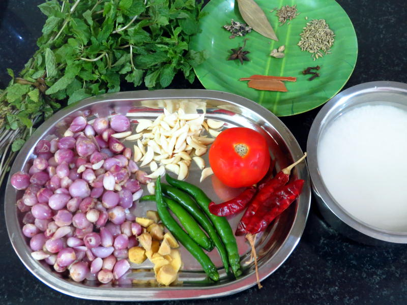 Thalappakatti Chicken Biryani Ingredients