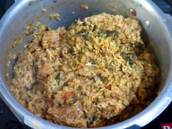 Thalappakatti Chicken Biryani Preparation Steps