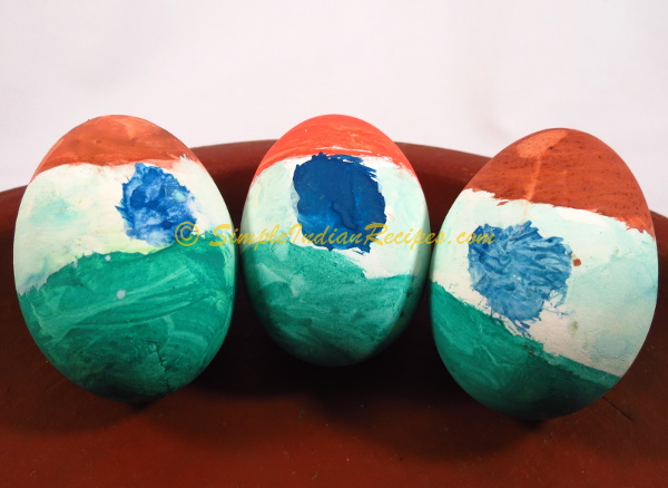 Indian Tri Color Egg