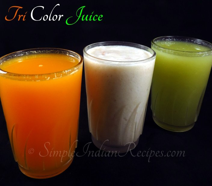 Tri Color Juice