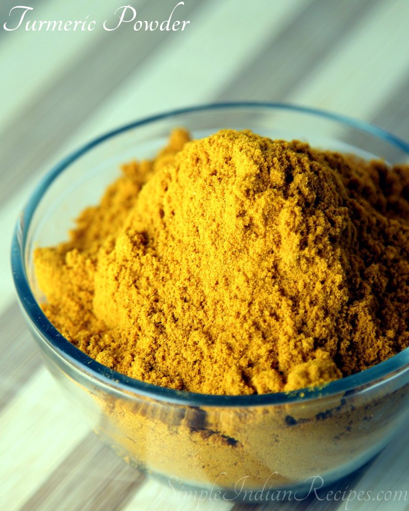 Homemade Turmeric Powder