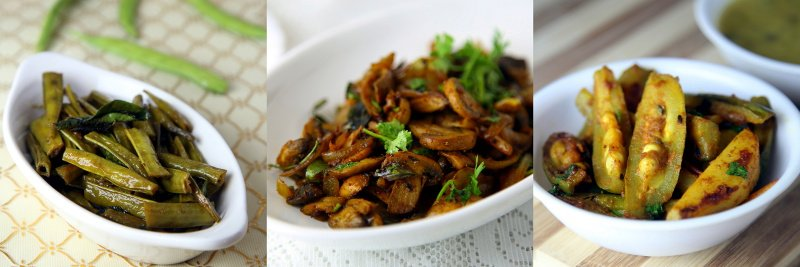 Vegetable Fry Recipes