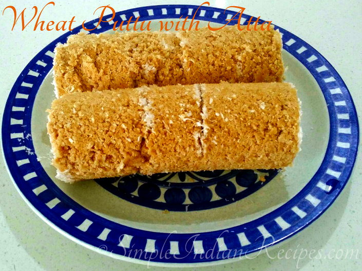 Wheat Puttu with Atta