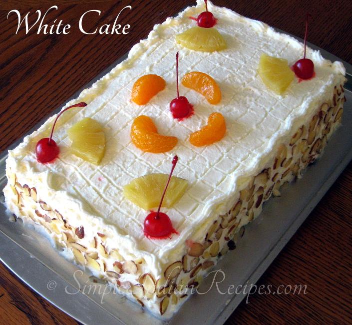 Simple Birthday Cake Recipe Indian