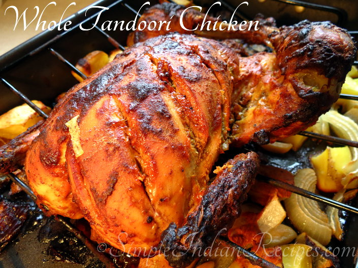 Whole Tandoori Chicken In Oven