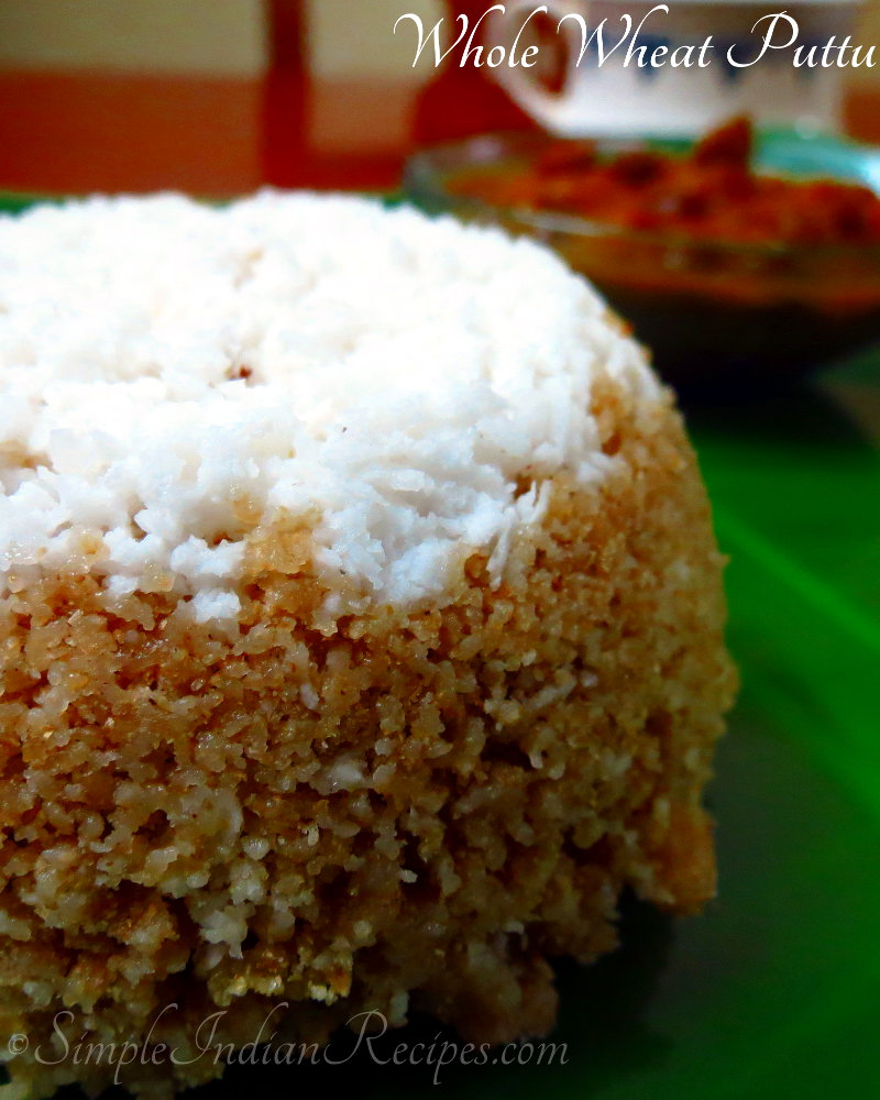 Whole Wheat Puttu
