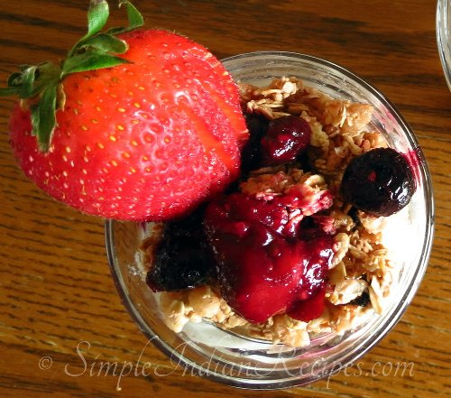 Yogurt Berry Parfait