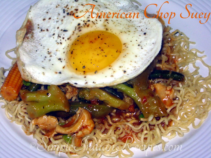 Indo Chinese American Chop Suey