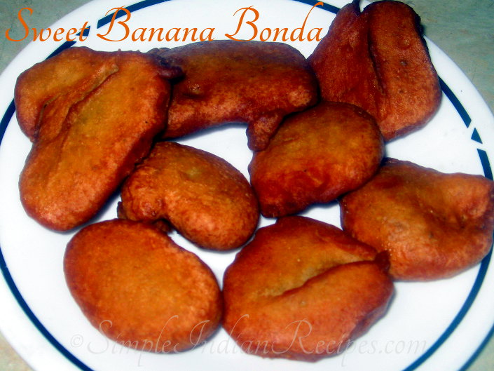Sweet Banana Bonda