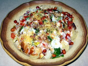 Bread Chaat Preparation Steps