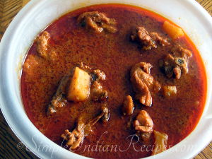 Spicy Chicken Vindaloo
