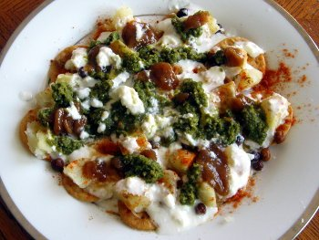 Dahi Papdi Chaat Preperation Step