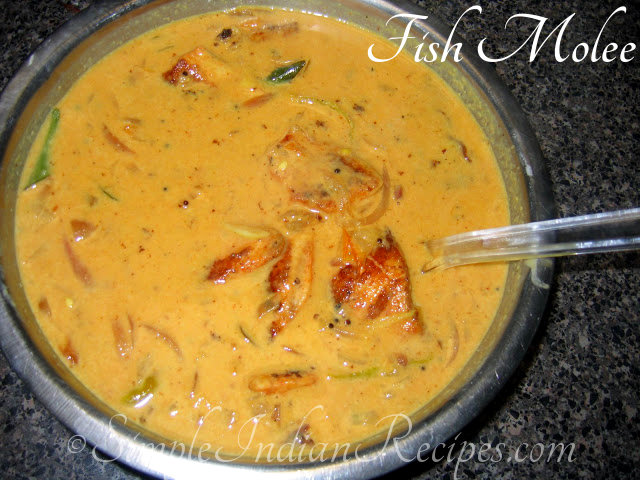 Kerala style fish molee fish molly meen molee simple for Molly fish food