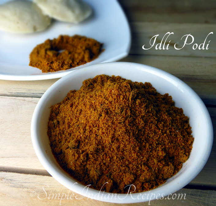 dli Podi (with sesame seeds)