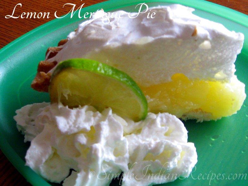 Lemon Meringue Pie - Key lime meringue pie - Lime meringue pie ...