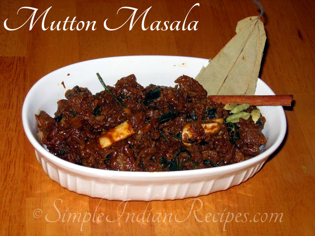 Mutton masala simple indian recipes mutton masala forumfinder Images