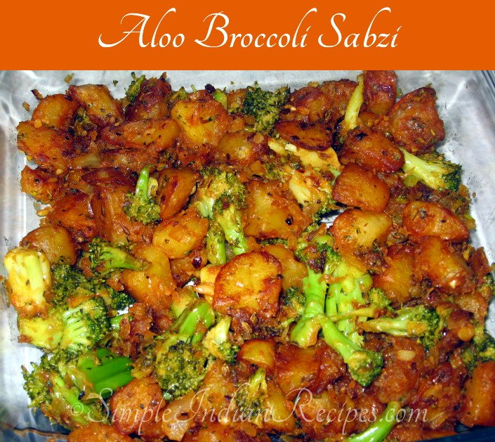 Potato Broccoli Stirfry