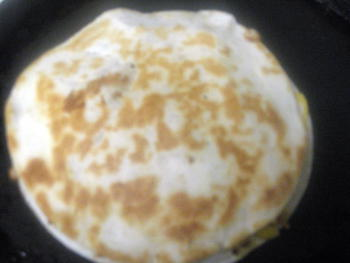 Quesadilla Preparation Step