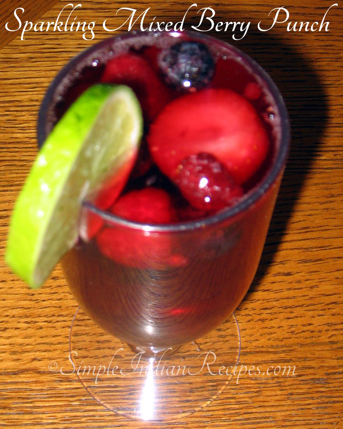 Mixed Berry Punch