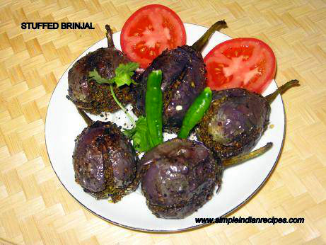 Stuffed Brinjal or Eggplant