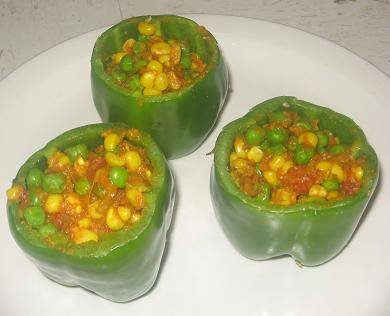 Stuffed Capsicum Step